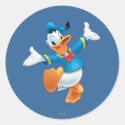 Donald Duck | Jumping Classic Round Sticker