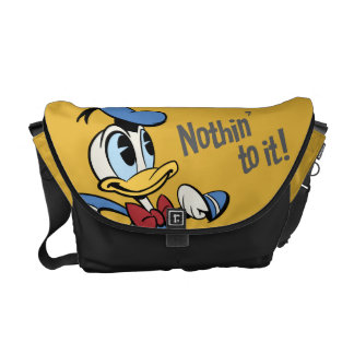 Donald Duck - Nothin' to it! Courier Bags