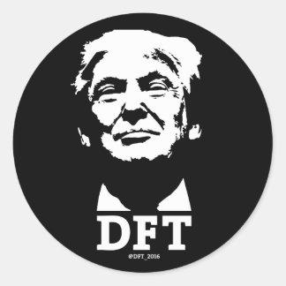 Donald F'n Trump 2016 Sticker