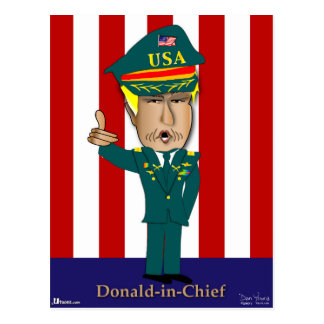 Donald-In-Chief Postcard