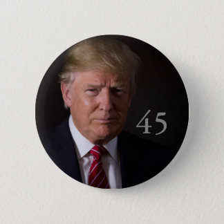 Donald J. Trump, 45th President of the U.S. 2 Inch Round Button