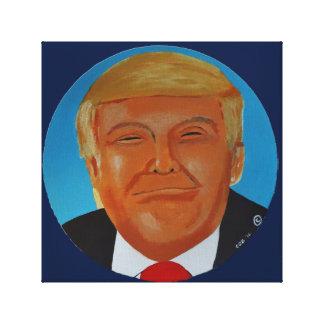 Donald  J Trump Canvas Original Artwork