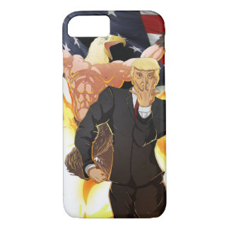 Donald J. Trump & The All American Hawk Phone Case