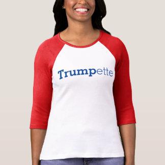 Donald J Trump TRUMPETTE Ladies Shirt