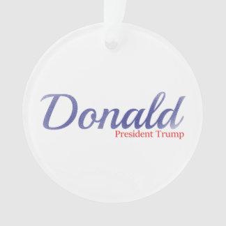 Donald, President Trump