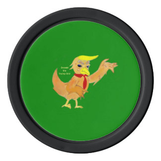 Donald the Trumpbird from book series Poker Chips