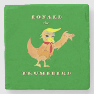 Donald the Trumpbird Stone Coaster