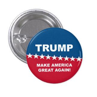 Donald Trump 2016 1 Inch Round Button