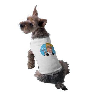 Donald Trump 2016 Cartoon Dog T-Shirt