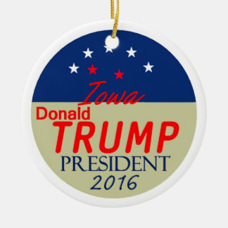 Donald TRUMP 2016 Ceramic Ornament