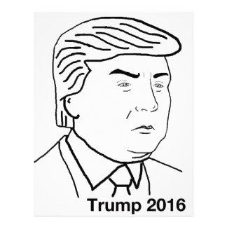 Donald Trump 2016 Custom Letterhead