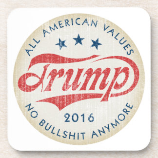Donald Trump 2016 Drink Coaster