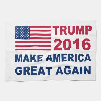 Donald Trump 2016 Make America Great again Kitchen Towel