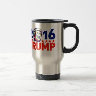 Donald Trump 2016 President Retro Travel Mug