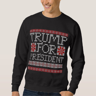 Donald Trump 2016 President Ugly Holiday Sweater