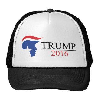 Donald Trump 2016 Presidential Logos Trucker Hat