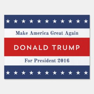 Donald Trump 2016 Sign