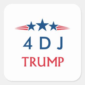 Donald Trump 2016 Square Sticker
