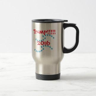 Donald TRUMP 2016 Stars Election Gear Travel Mug