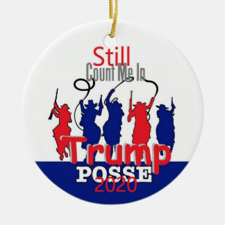 Donald TRUMP 2020 Ceramic Ornament