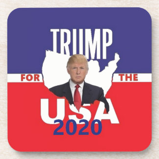 Donald TRUMP 2020 Coaster