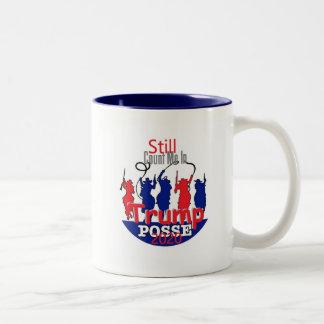 Donald TRUMP 2020 Two-Tone Coffee Mug