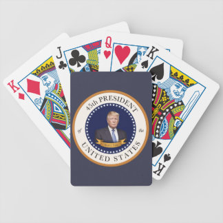 Donald Trump - 45th President of the United States Bicycle Playing Cards