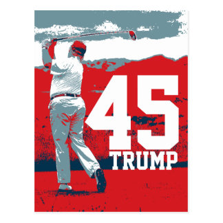 Donald Trump 45th President Postcard