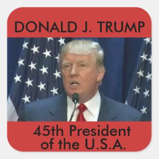 Donald Trump/45th President sticker