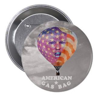 Donald Trump: American Gas Bag 3 Inch Round Button