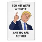 Donald Trump Birthday Card