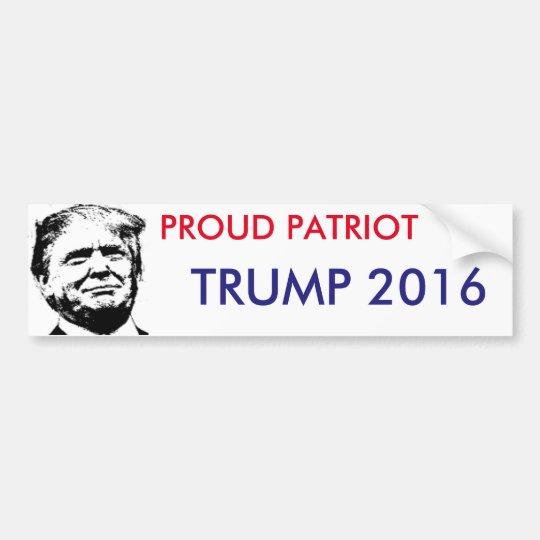 Donald Trump Bumper Sticker