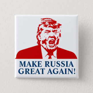 "Donald Trump Button ""MAKE RUSSIA GRETA AGAIN!"""