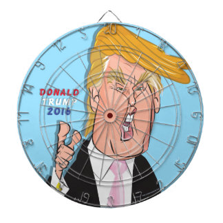 Donald Trump Cartoon Dartboard