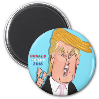 Donald Trump Cartoon Magnet