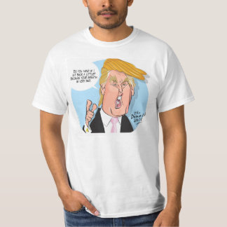 Donald Trump Cartoon Tshirt with quote