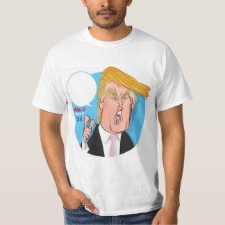 Donald Trump Cartoon Tshirt - you write caption