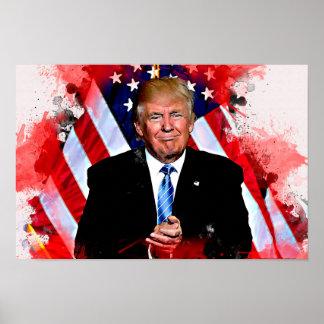 Donald Trump Celebration Poster #MAGA