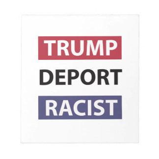 Donald Trump design Notepad