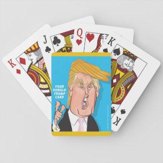Donald Trump Donald cartoon playing cards