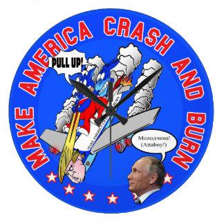 Donald Trump Doomsday Clock (Large)