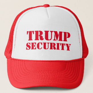 Donald Trump Election Security Trucker Hat