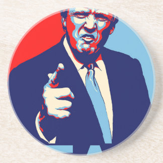 "Donald trump ""Fear"" parody poster 2017 Coaster"