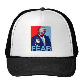 "Donald trump ""Fear"" parody poster 2017 Trucker Hat"