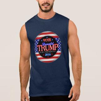 Donald Trump Flag President 2016 Sleeveless Shirt
