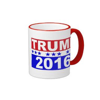 Donald Trump For President 2016 Ringer Coffee Mug