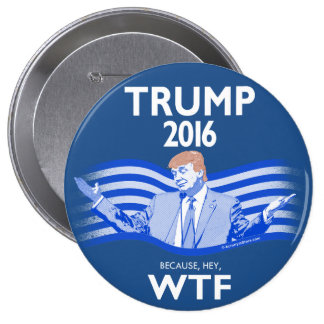 Donald Trump for President 4 Inch Round Button
