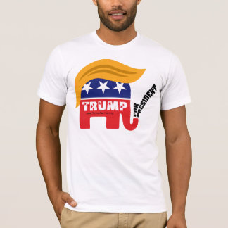 Donald Trump For President GOP Elephant Hair T-Shirt