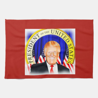 Donald TRUMP-for President of USA _ Kitchen Towel