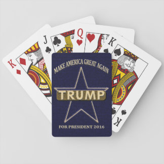 Donald Trump for President Political Playing Cards